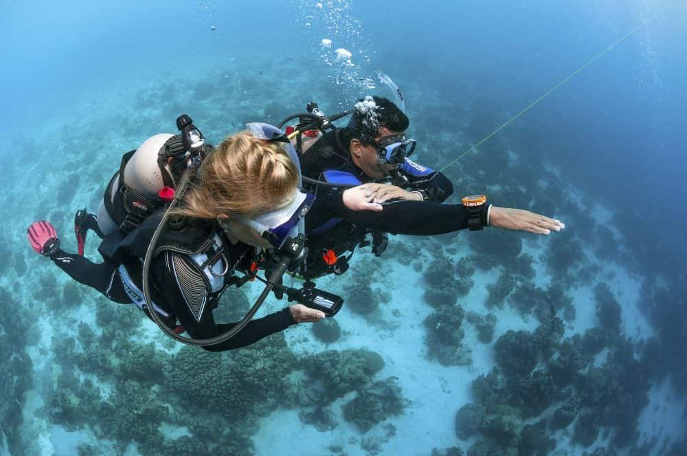 diver navigation