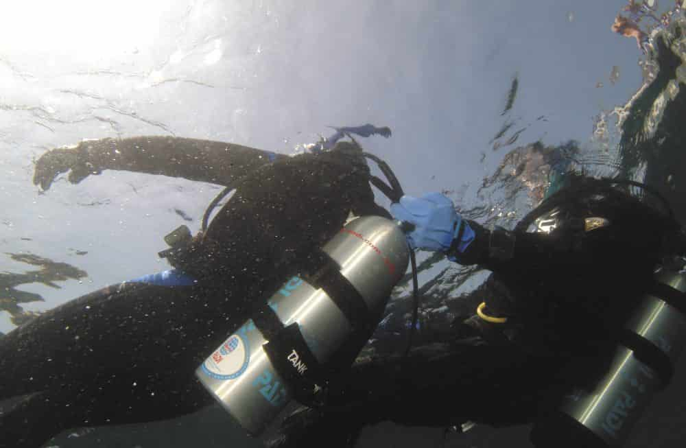 diver valve tow